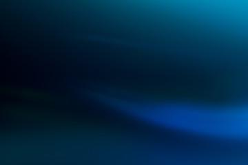 Blue gradient matter. Soft background. Lens flare glow. Ocean shades backdrop.