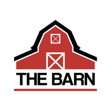 simple barn farm house logo