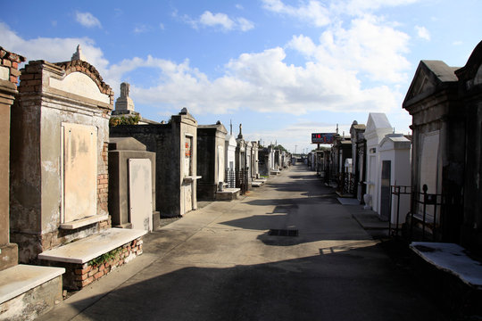St. Louis Cemetary No.2 of New Orleans