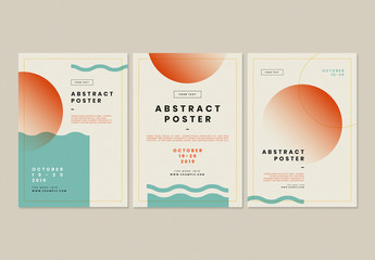 Abstract Design Flyer
