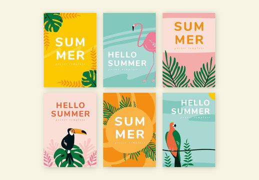Tropical Brochure Design