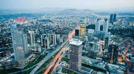 Fotomurales - Modern Istanbul
