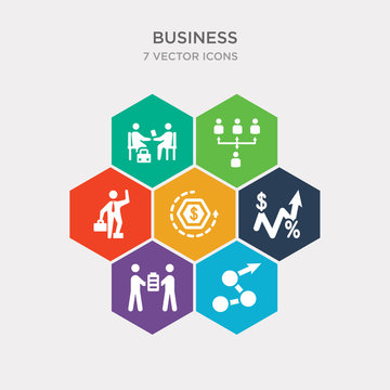simple set of measure success, partners in business, increase rate, return of investment icons, contains such as icons man succesing, increase team work, work parteners and more. 64x64 pixel