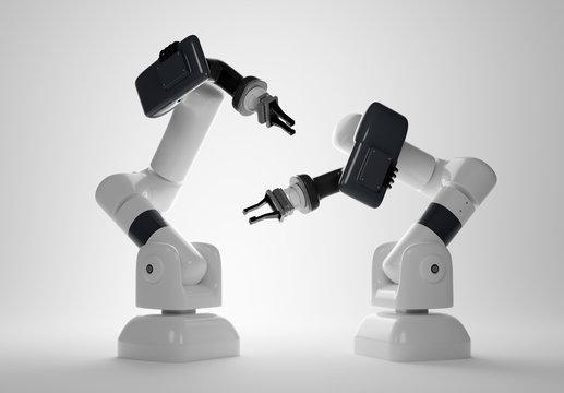 Digital Manufacturing Robotic Arms