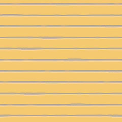 Horizontal watercolour brown and cream striped geometric design. Seamless vector pattern on yellow background. Great for wellbeing, beauty, summer, kitchen products, fabric, packaging, stationery