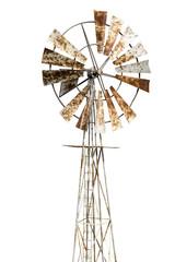rusty windmill
