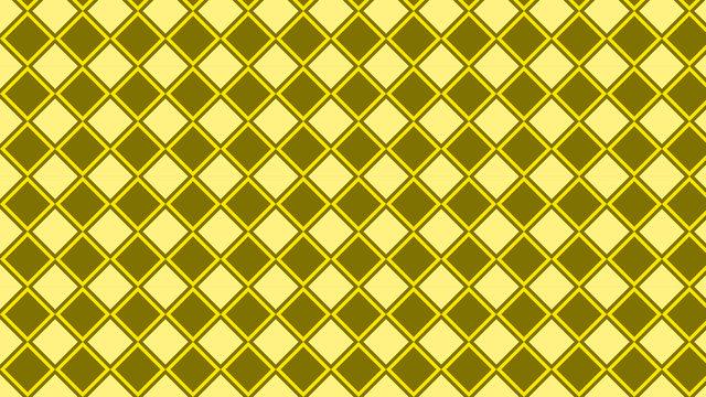 Yellow Geometric Square Pattern Background Illustrator