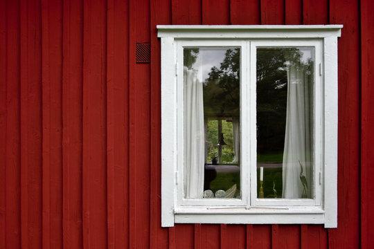 Rotes Haus in Småland, Schweden