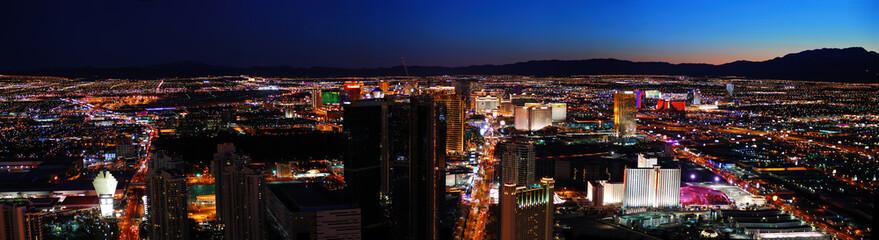 Aluminium Prints Las Vegas Paisagens Panoramicas