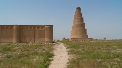 Malwiya Tower in Samarra, Iraq