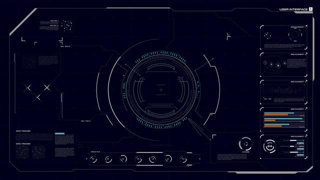 HUD GUI Interface 001