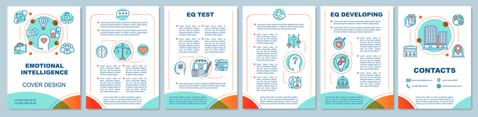 EQ brochure template layout