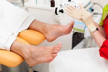 pedicure foot