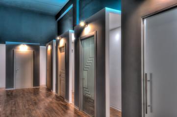 Modern windows and doors showroom