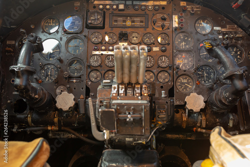 Vulcan cockpit
