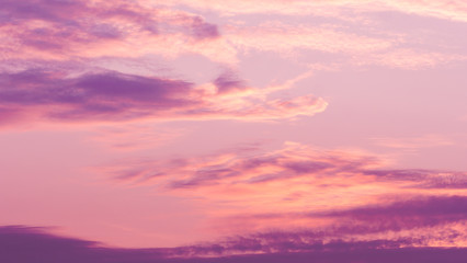 Door stickers Sunset Twilight violet sky background with Colorful sky in the nature