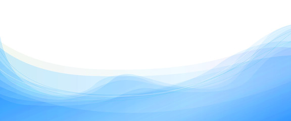 波型曲線の背景素材