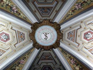 chiesa di san silvestro a montecompatri in provincia di roma,italia.