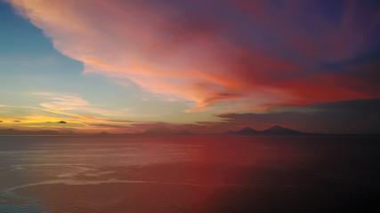 Sunrise over the Bismarck Archipelago