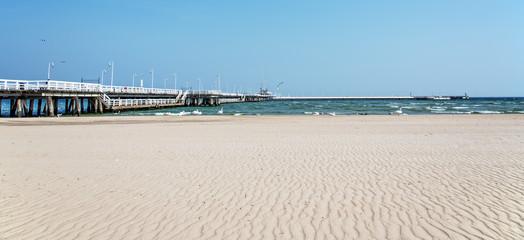 Ostsee Strand Pier Sand Sopot