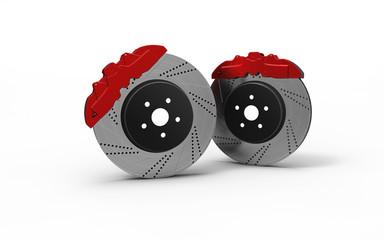Two disc brake