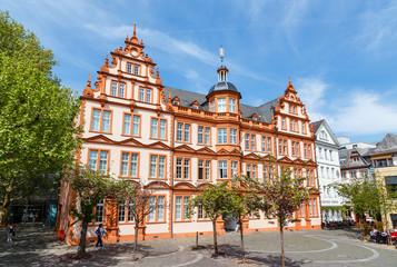 Mainz, das Gutenberg-Museum. 24.04.2019.