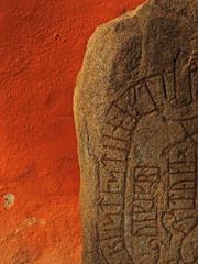 Runenstein in Växjö, Schweden.