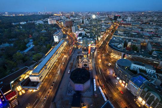 Berlin Panorama-city West, Deutschland