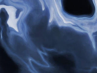 Blue Wave Fine Art Texture Abstract Pastel Effect