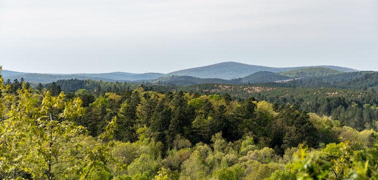 Ozark mountain view in Arkansas