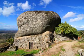 Boulder house in Monsanto Portugal, Europe