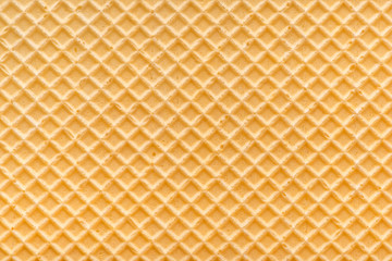 abstract empty golden waffle texture, background for your design