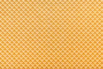empty golden wafer texture, background for your design