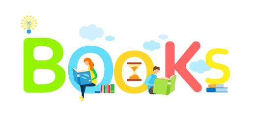 Children Cheap Books Store Web Banner Template