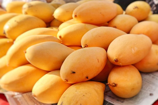 mango at street food