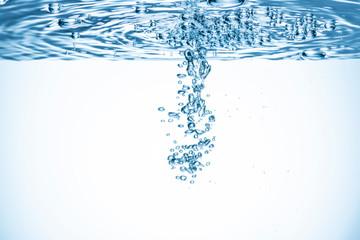 水中の気泡