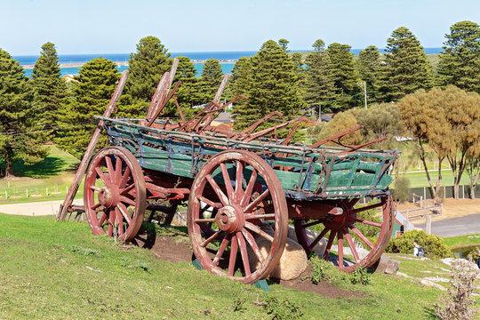 Vintage Horse Drawn Wagon