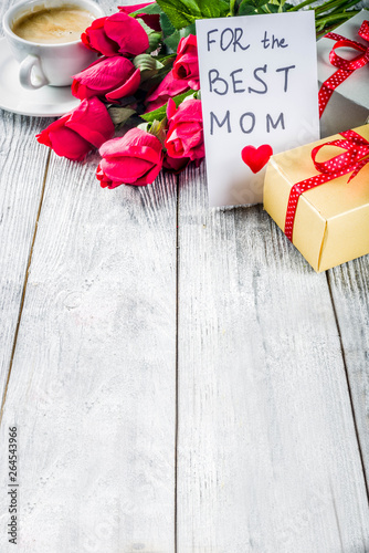 Mother's day greeting background