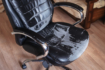 office Chair old damage