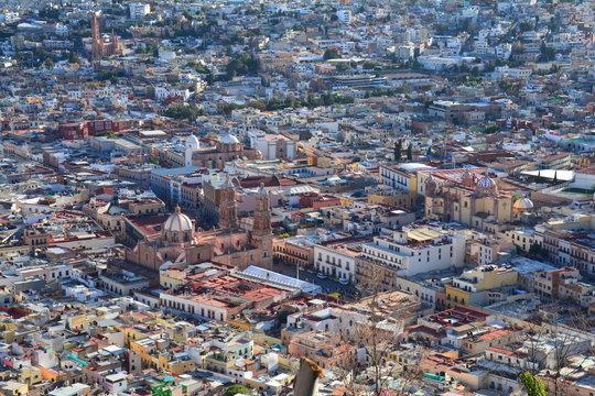 Vue Panoramique Zacatecas Mexique