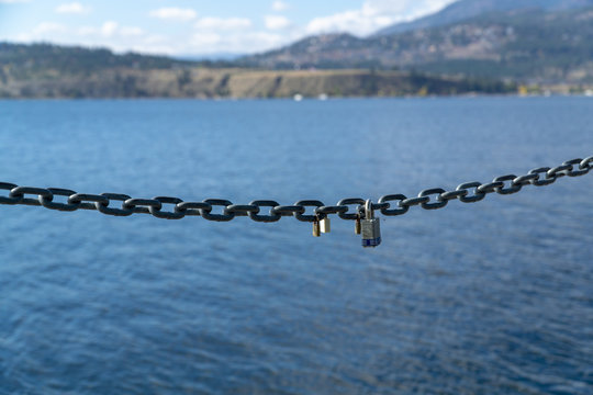 Locks on a chain for memories