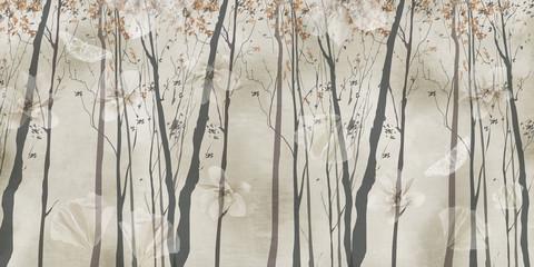 3d wallpaper chinese europe design - 264658563