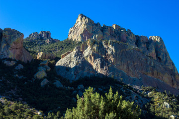 The colorful Chiricahua Mountains are one of Arizona's famous sky islands