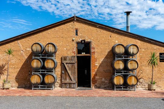 Mclaren Vale Vine Yard, South Austrlia Australia