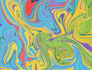 Wall Murals Psychedelic abstract colorful background