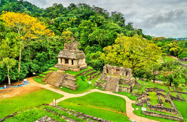 Wall Mural - Ruins of Palenque in Chiapas, Mexico