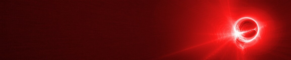 red glow wave. lighting effect abstract background