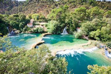 Krka, Sibenik, Croatia - Enjoying the beauty of nature within Krka National Park