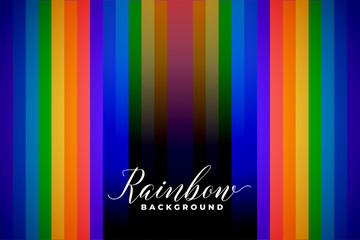 abstract rainbow color lines background