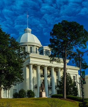 Alabama State Capitol Dome exterior